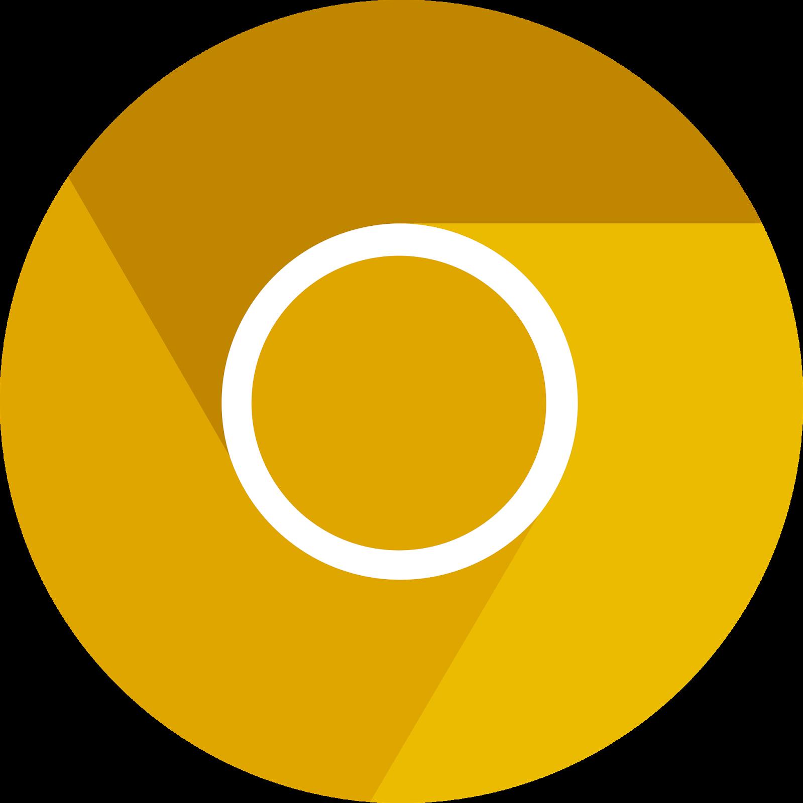 Logos flat canary vectors. Google clipart logo chrome