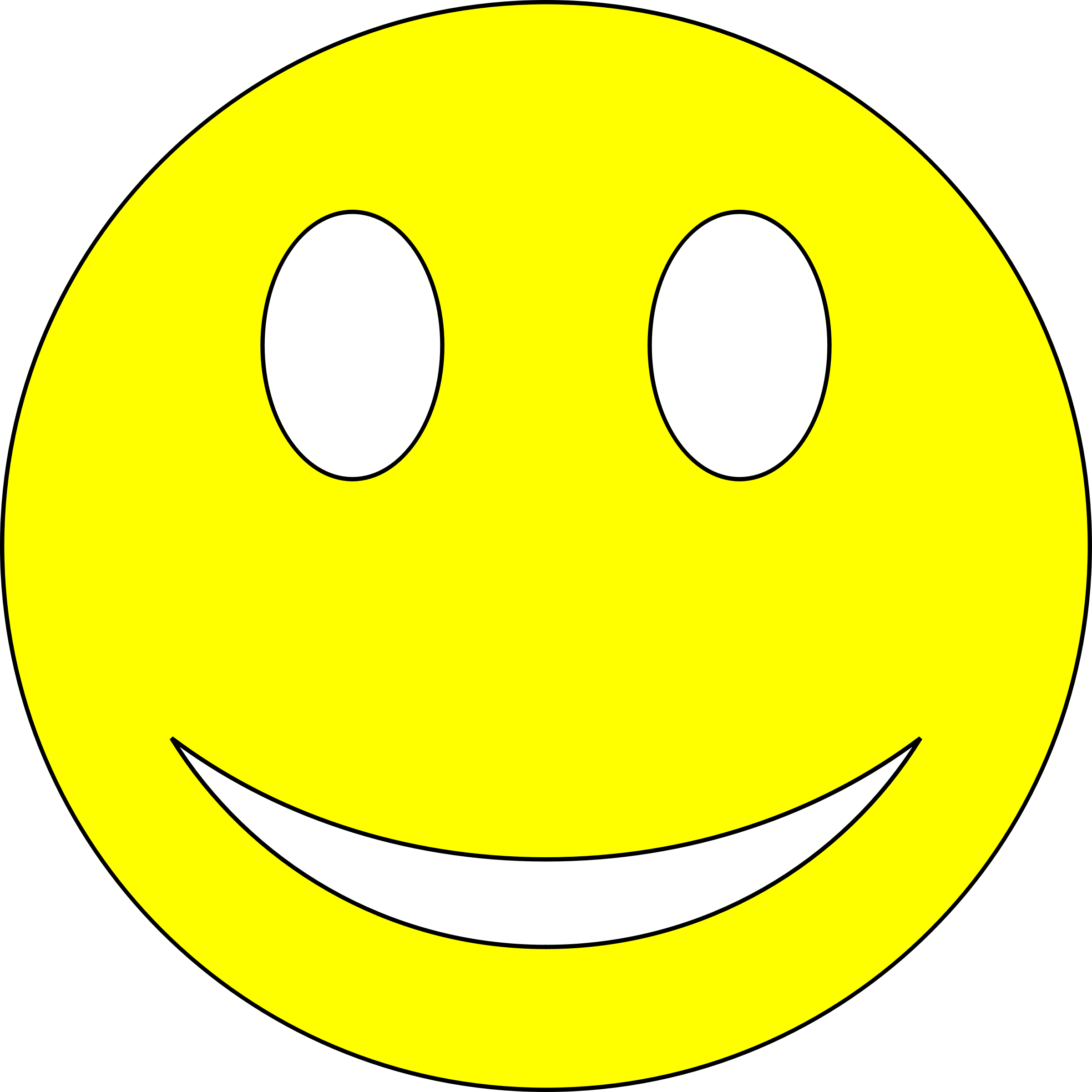 Study clipart study guide. Smiley yellow big image