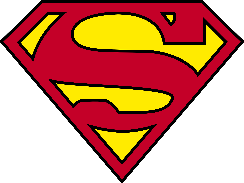 Words clipart superhero. Ripped open superman logo