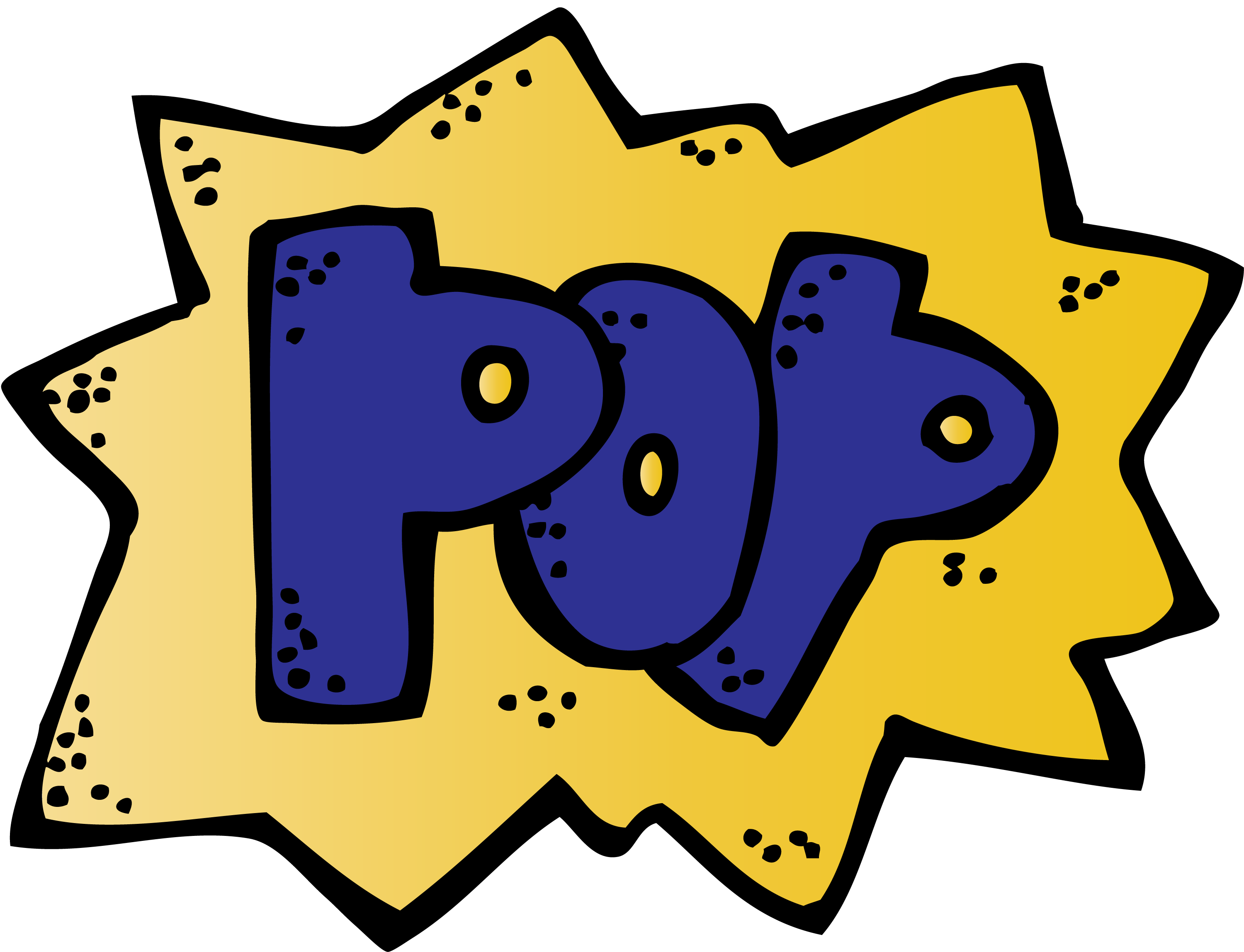 Place value power word. Words clipart pop