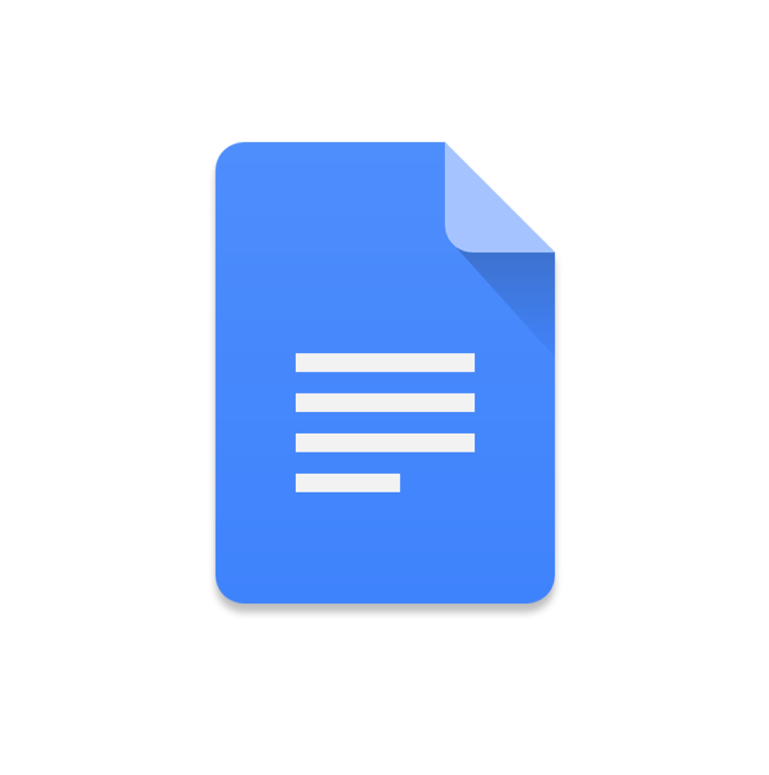 Google docs png. Mobile app application software
