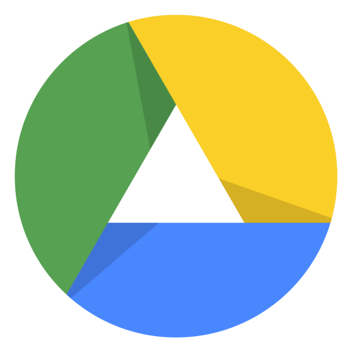 Google drive png. Icon free of material