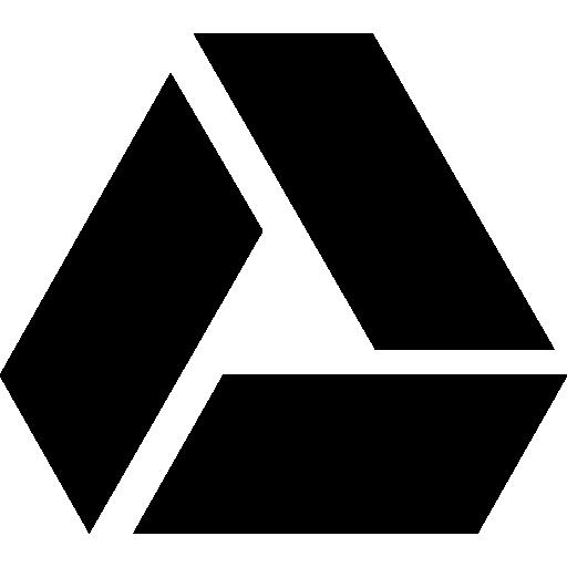 Logo free icons icon. Google drive png