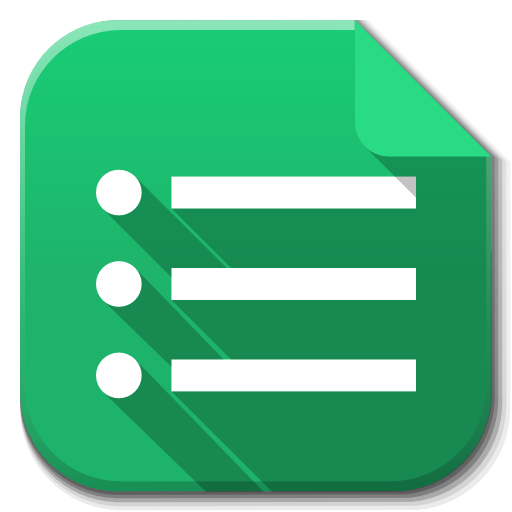Apps drive icon flatwoken. Google forms png