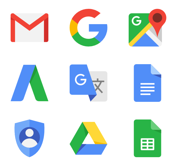 Google icon png. Icons free vector