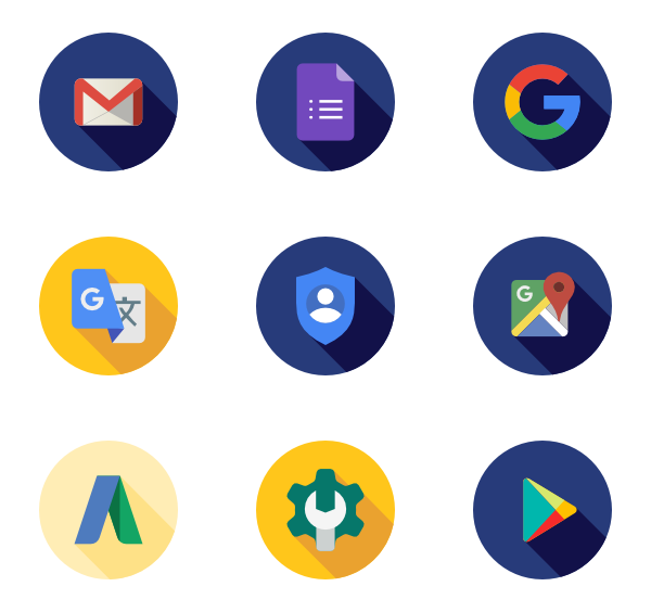 packs vector svg. Google icon png
