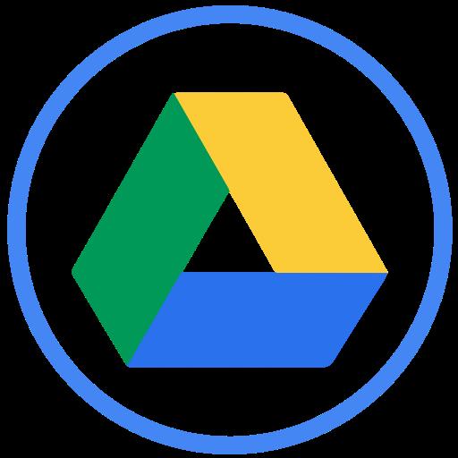 Iconfinder social circular color. Google icons png