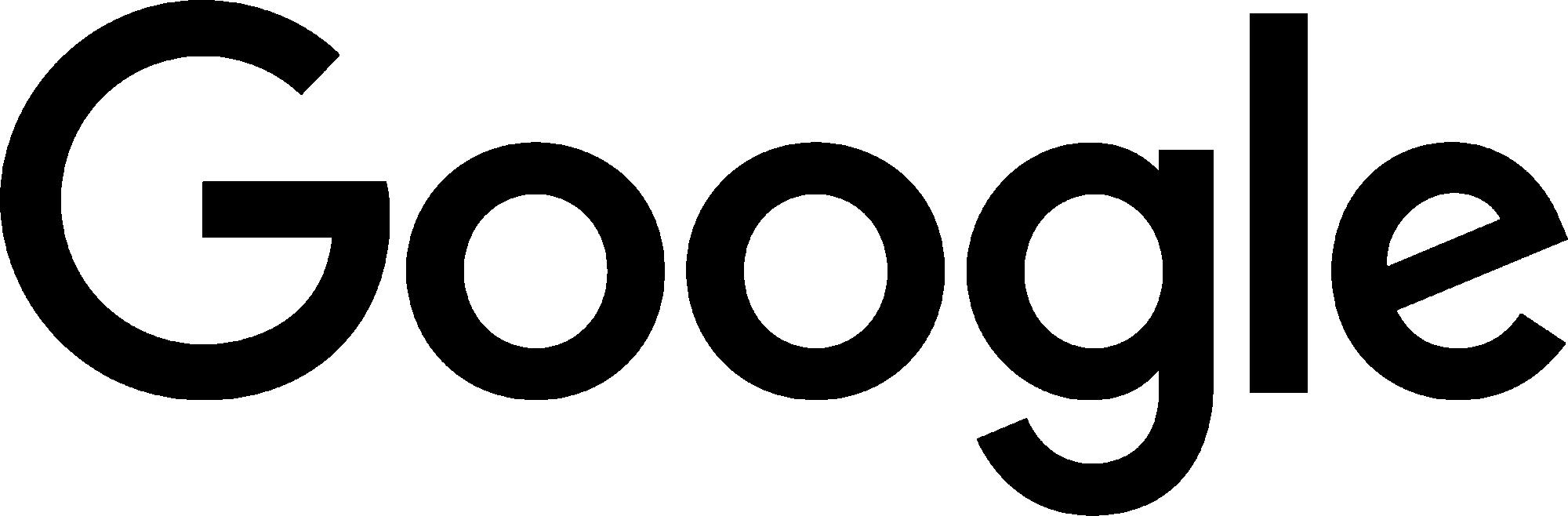 Images free download black. Google logo png
