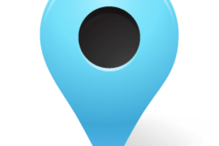 Google map marker png. Blue path decorations pictures