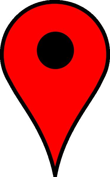 Red clip art at. Google map pin png