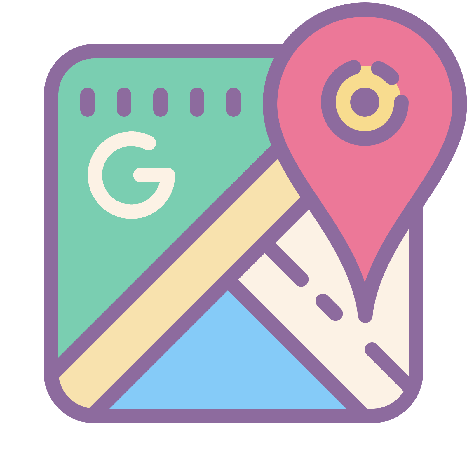 Icon free download and. Google maps png