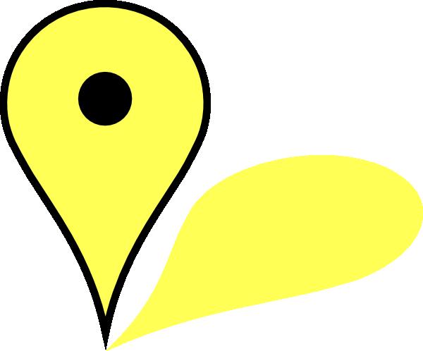 Pin clip art at. Google maps png