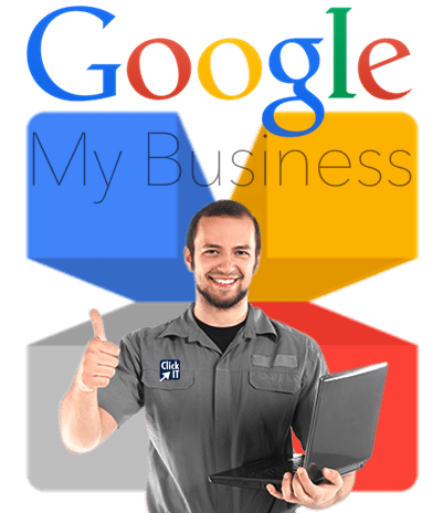Listing service website design. Google my business png