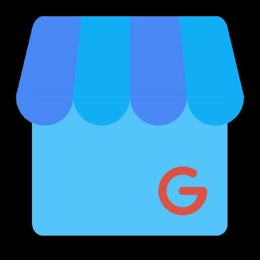Google my business png. Shop store suit service