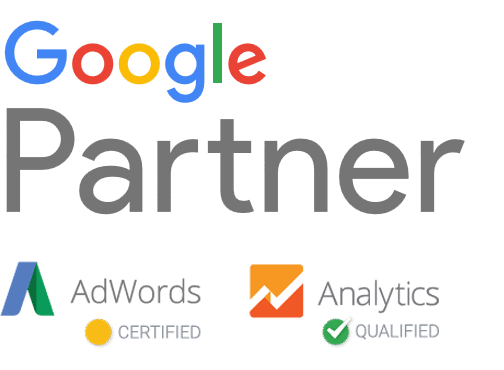 Outsource ppc management white. Google partner png