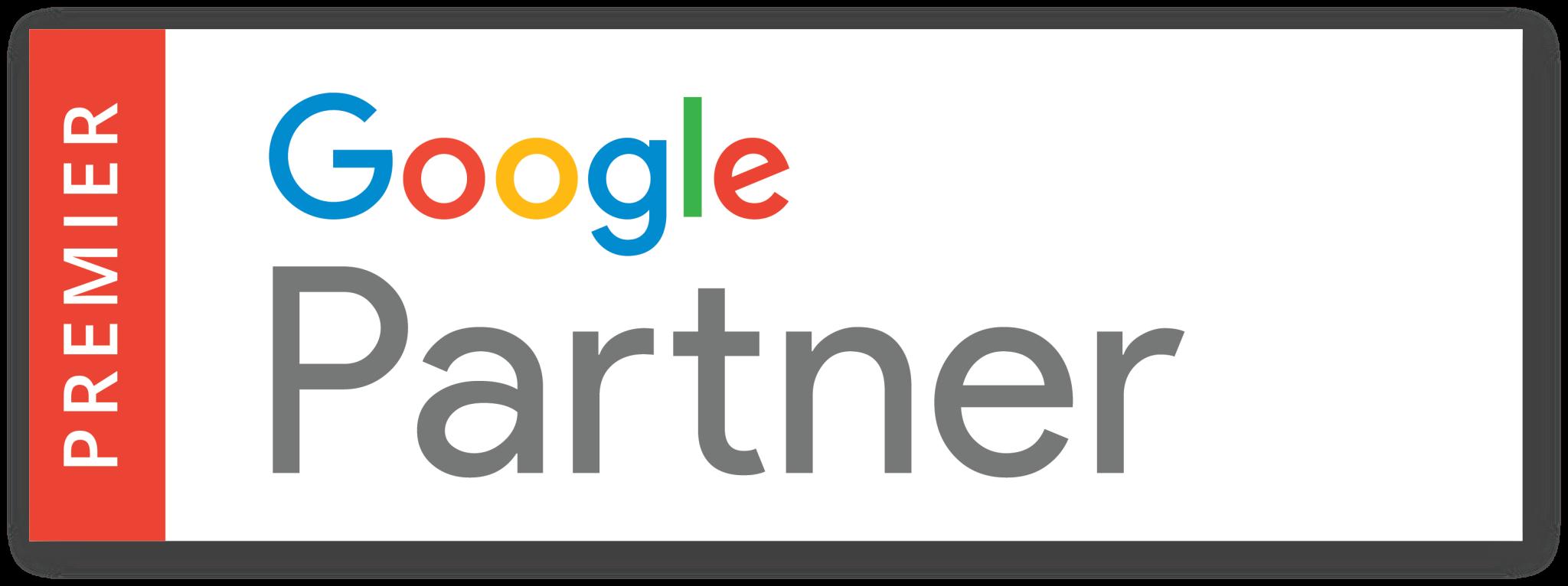 Google partner png. Ignite digital achieved premier