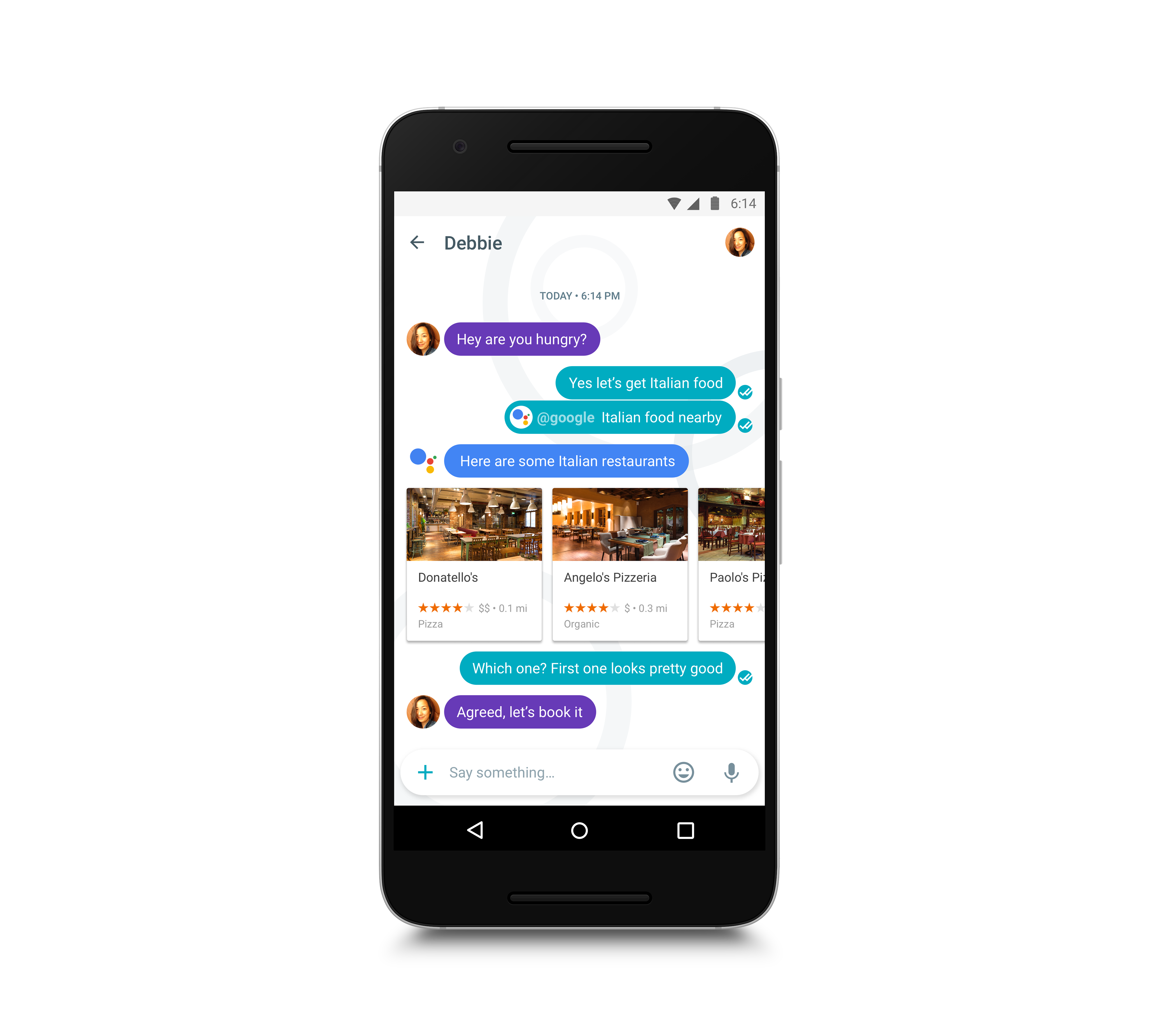 Google pixel 2 png. Living with assistant techcrunch