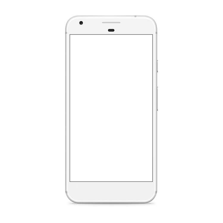 Google pixel png. Very silver mock up