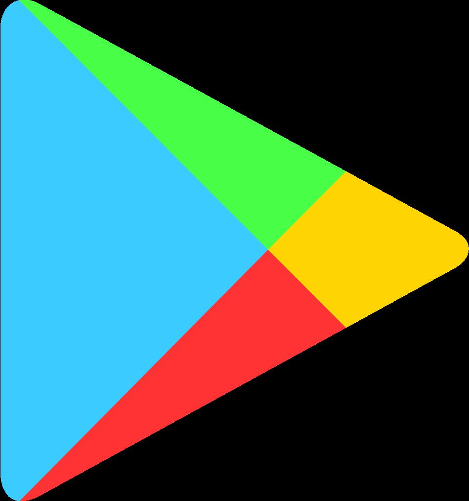 Free transparent logos arrow. Google play logo png