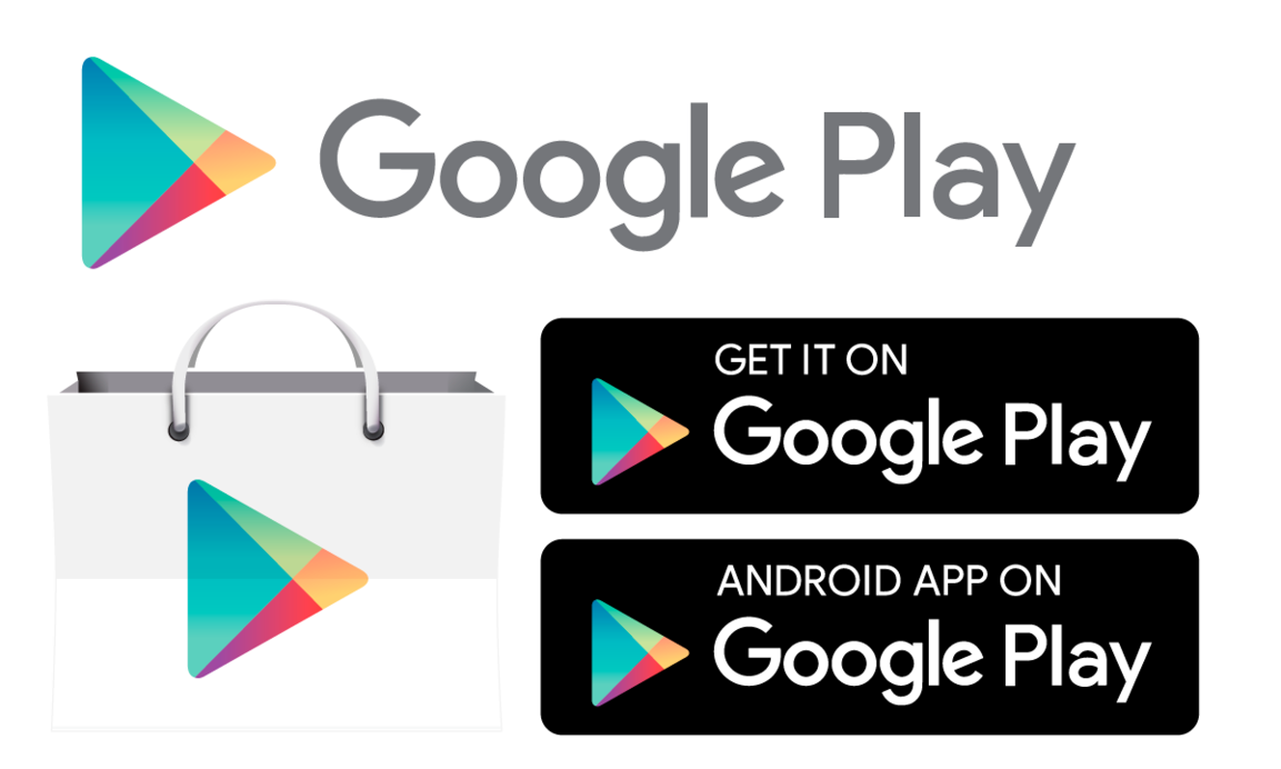 Google play store icon png. And badges by hsigmond
