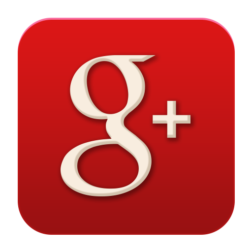Icon flat social media. Google plus logo png