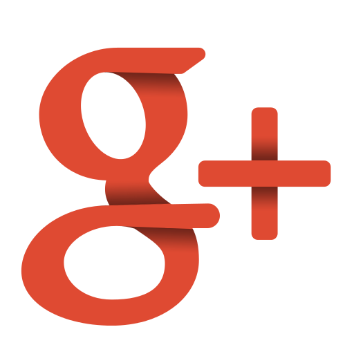 Google plus logo png. Social papercut by ploup