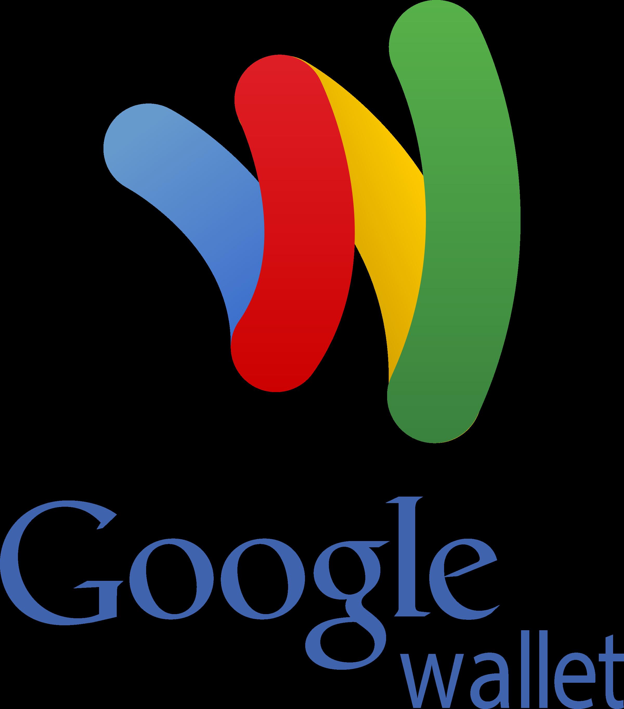 Wallet logo svg vector. Google png transparent