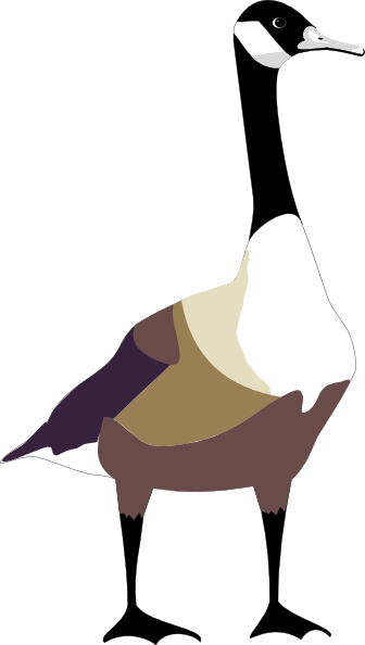 Goose clipart. Clip art at clker