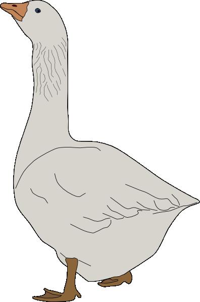 Clip art at clker. Goose clipart