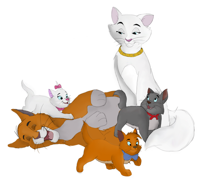 Pin by m rcia. Kitten clipart the aristocats character
