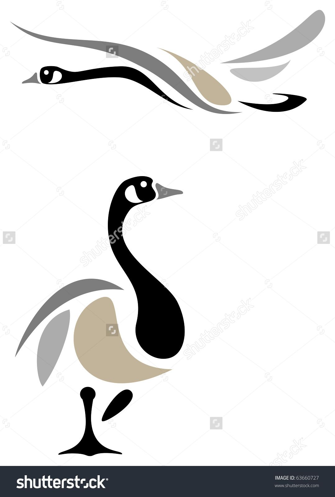 Pin by theresa gonzales. Goose clipart canada goose