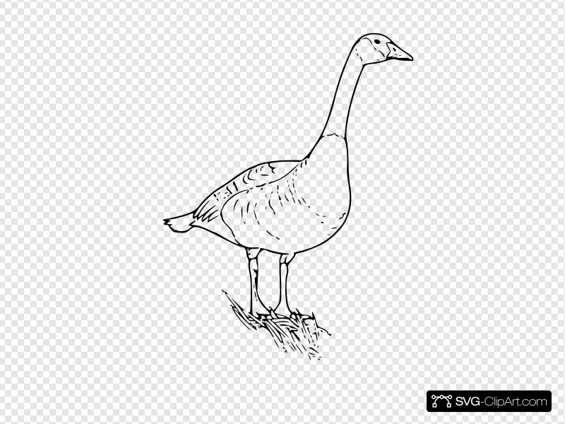 Goose clipart icon canadian. Canada clip art and