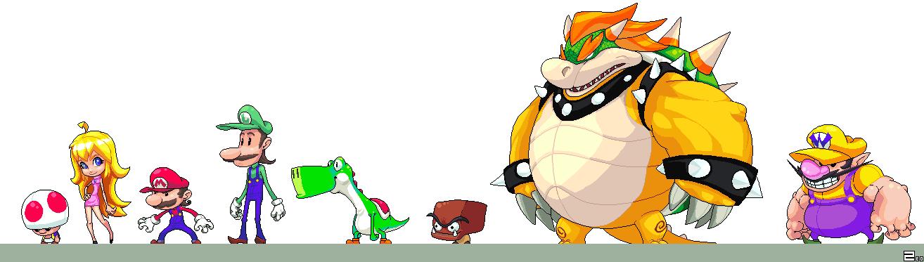 Mario pixel mario