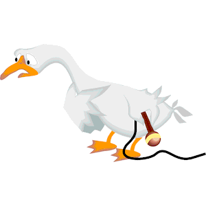 Goose clipart sad. Singer cliparts of free