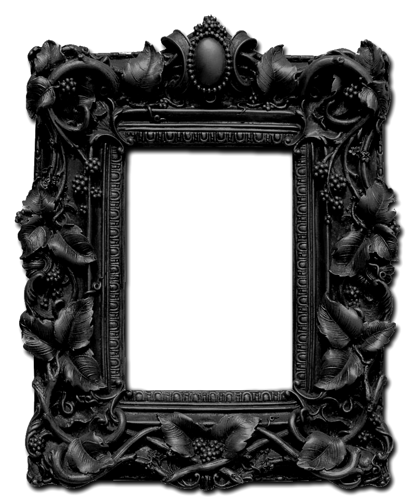 Picture frames architecture revival. Gothic border png