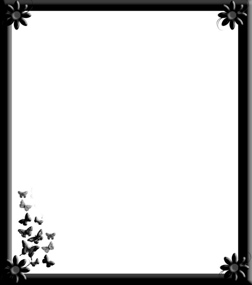 Border flowers by spidergypsy. Gothic frame png