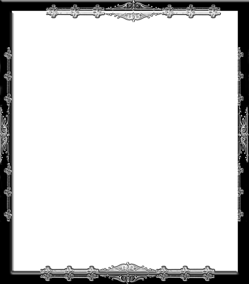 Gothic border png. Frame by spidergypsy on