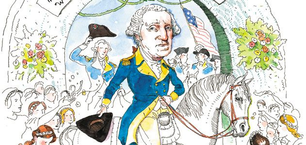Voting clipart chief citizen. George washington the reluctant
