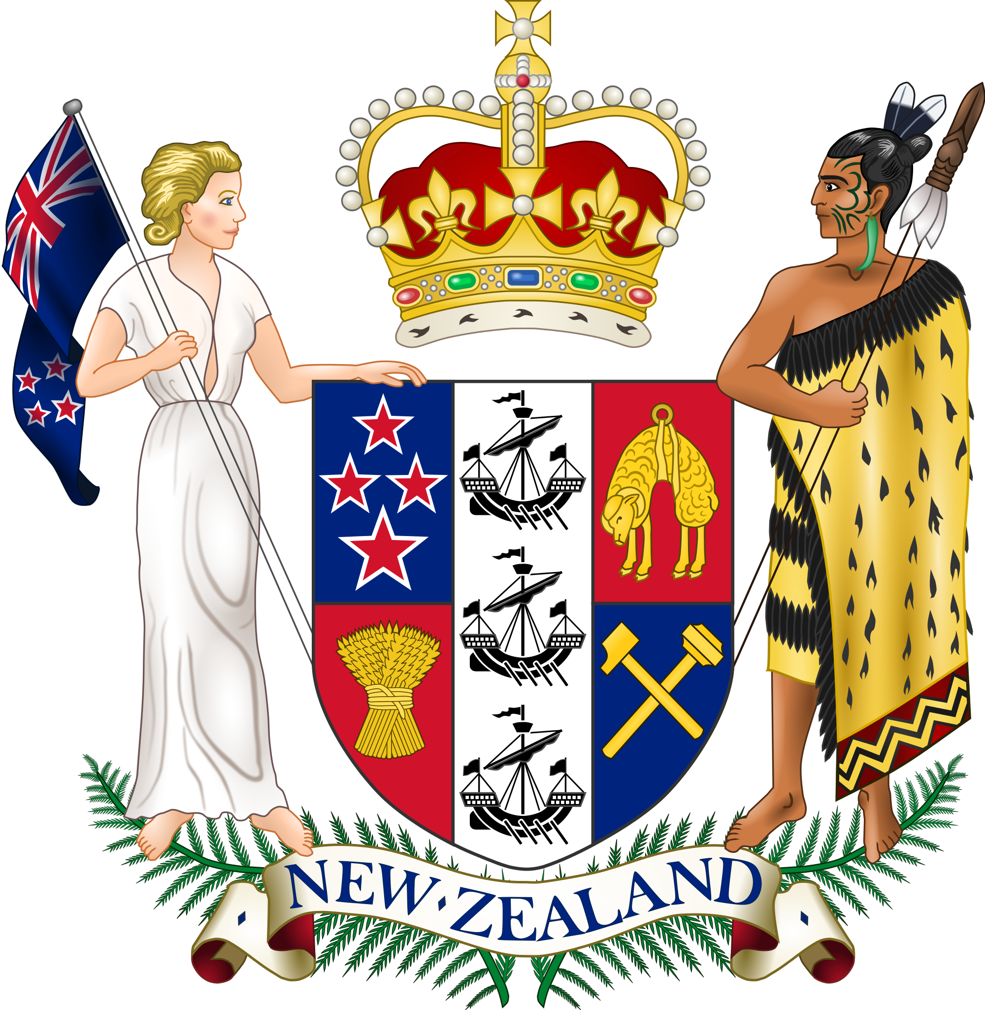 Government clipart chief state. New zealand untc topic