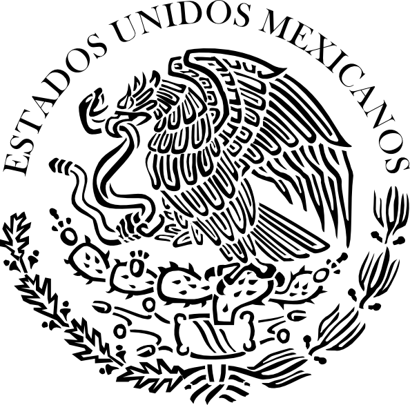 Mexican clipart drawing. Seal of the government