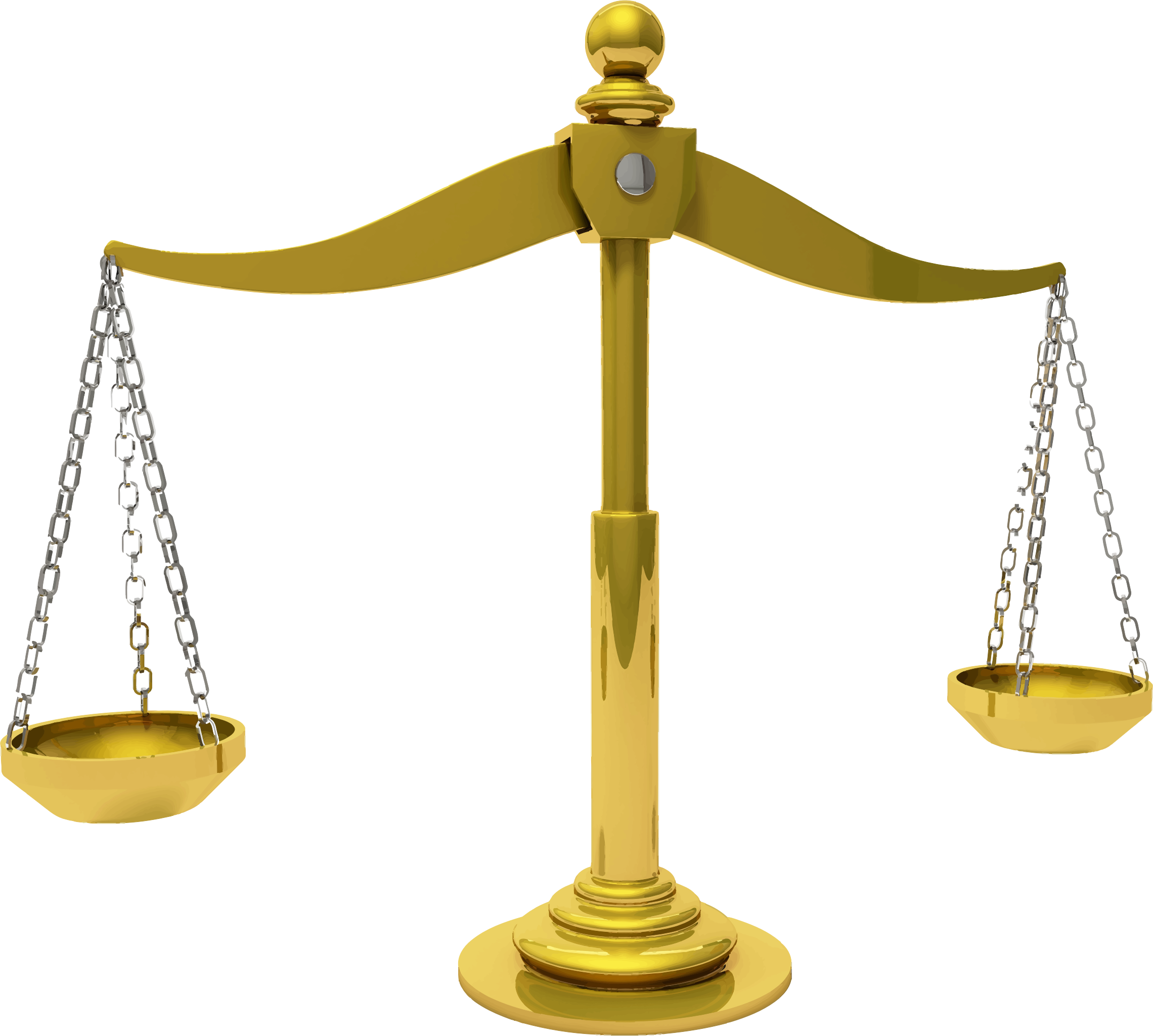 Justice clipart law and order. Brass scales of big