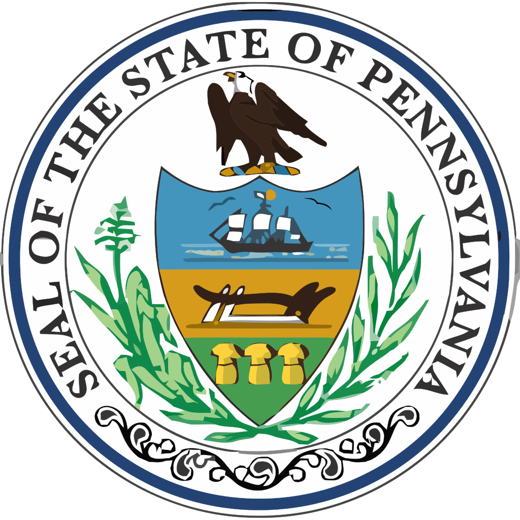 File pennsylvania state svg. Seal clipart printable