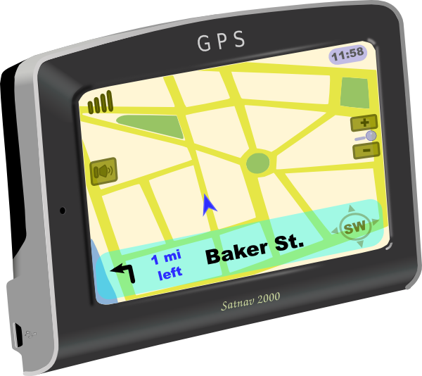Gps clipart. On clip art at