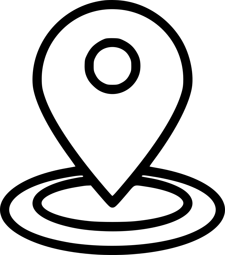 Mark location large svg. Pin clipart gps icon