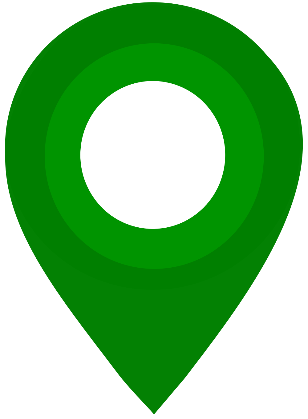 File map green svg. Pin clipart gps icon