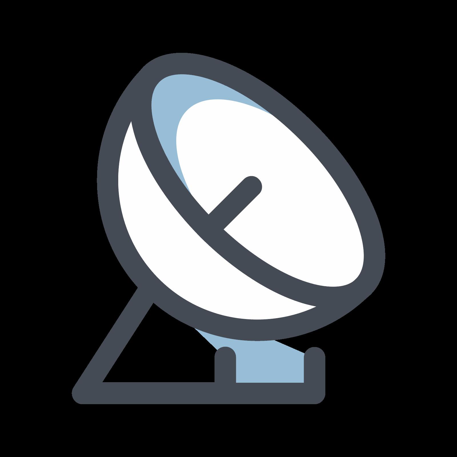 Gps clipart satellite signal. Antenna icon free download