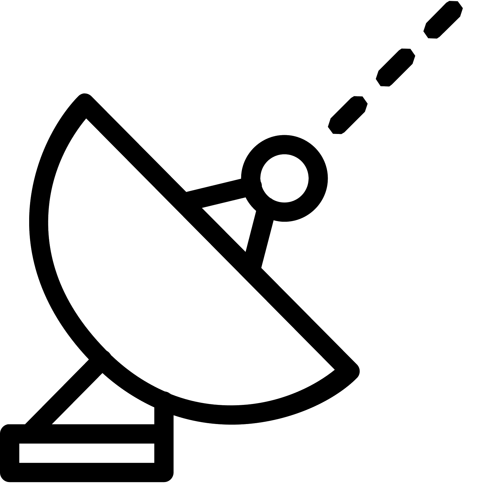 Antenna icon kostenloser download. Gps clipart satellite signal