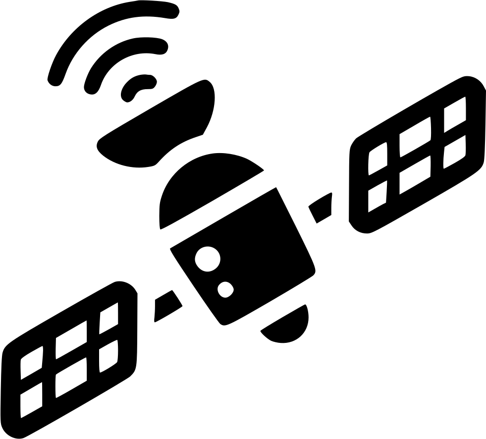 Space wifi communication wireless. Gps clipart satellite signal