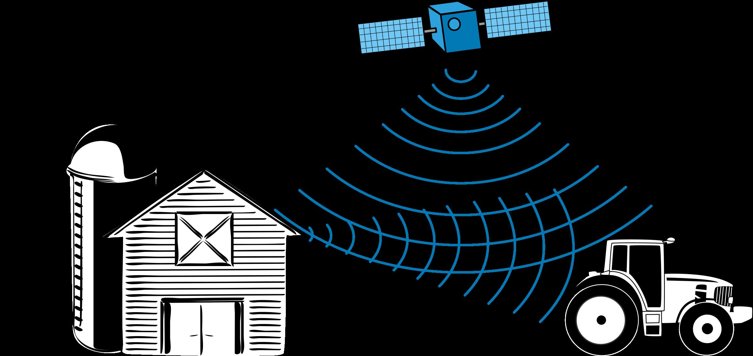 Gps clipart satellite signal. Multipath effect big image