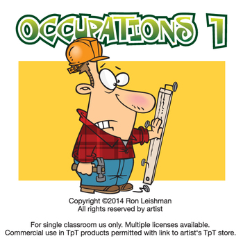 Grades clipart 4.0. Occupations cartoon volume for